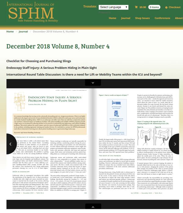 International Journal of SPHM