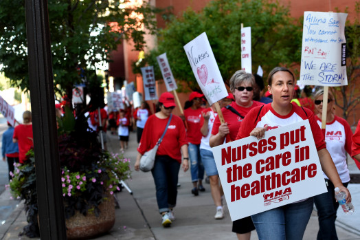Nurses Strike