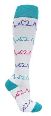 EKG compression socks for nurses