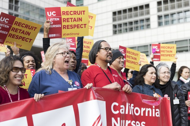 Nurses Strike for Their Rights